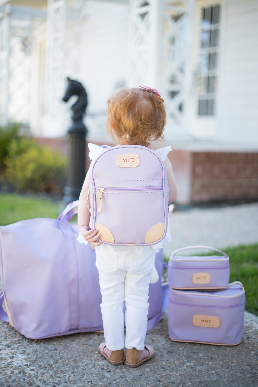 Back pack for kids - Click through to see more of Jon Hart Design on Something Delightful Blog.