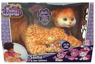 Кошка Саша с котятами