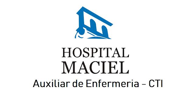 Auxiliar de Enfermería para CTI - Hospital Maciel