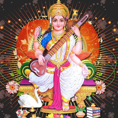 Images Of Saraswati Mata