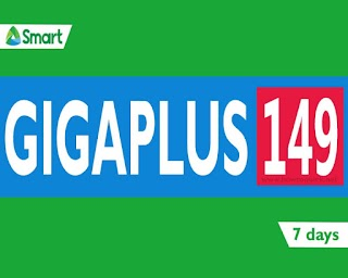 Smart GIGA PLUS 149 - Unli allnet texts, calls with 2GB + 1GB, only P149 for 7 days