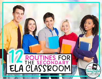Classroom routines for the secondary ELA classroom