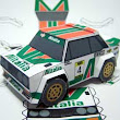 Paperized: SD Fiat 131 Abarth Rally Papercraft
