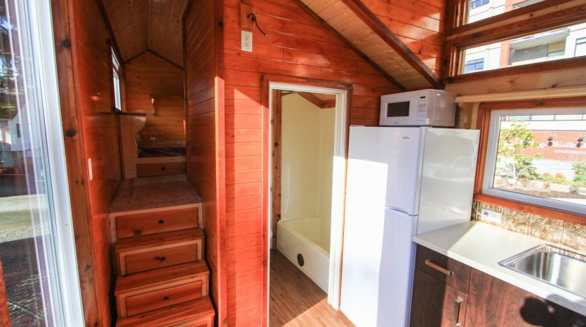 The Home Is Currently Available For Sale On Tiny House Canada 28000 CAD About 20976 USD