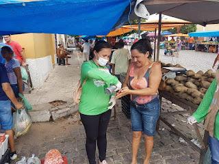 Com algumas restrições, feira livre de Picuí é realizada com sucesso