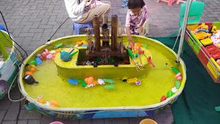 Main di Alun-alun Kidul Boyolali