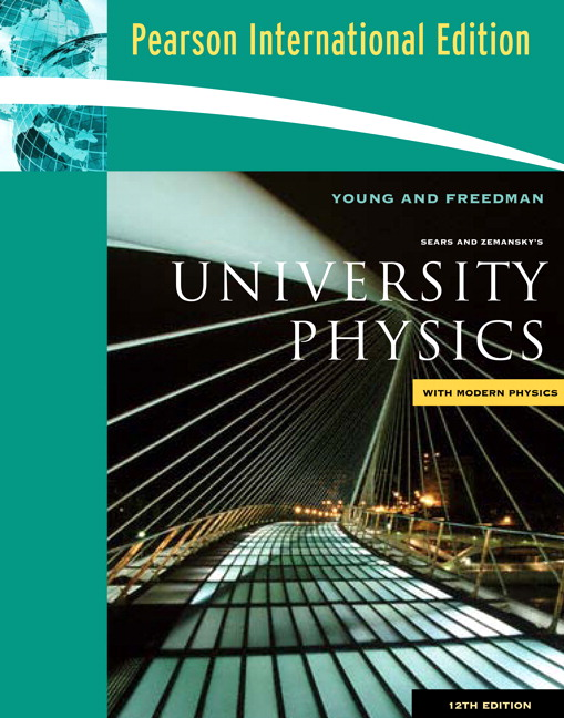 University physics young and freedman 12th edition for sale in.