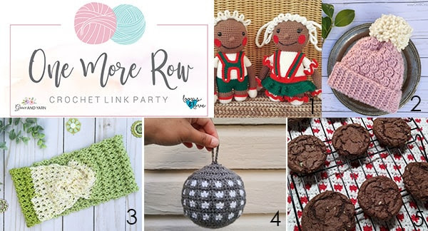 One More Row - Free Crochet Link Party #26