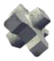 X-Block, pieza de manto