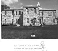 Restored Tivy School, mid-1980s