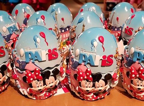 Atractivos souvernirs en Disneyland Paris