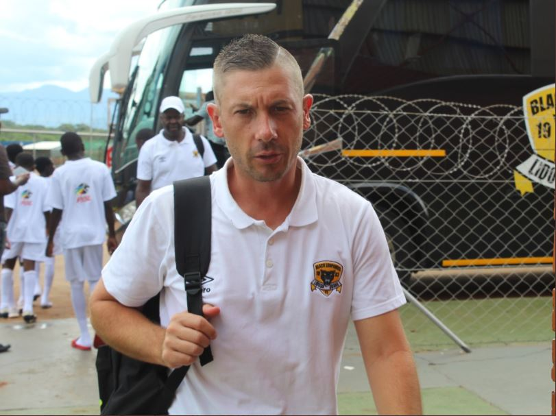 Black Leopards head coach Alan Clark