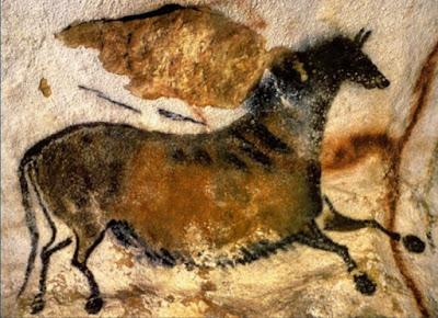 cavallo cinese di Lascaux pittura rupestre arte storia dell'arte paleolitico