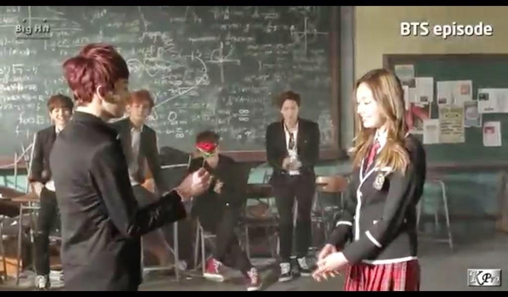 Sweet n Bitter BTS Bangtan Boys Boy In Luv MV making