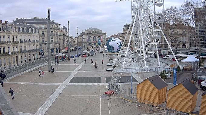 Montpellier : Découvrez le temps pour le réveillon du nouvel an
