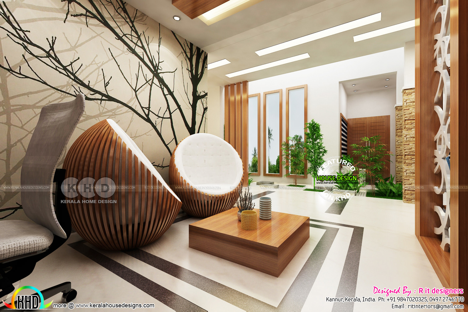 High Quality Modern Interior Designs Kerala Home Design And Floor Plans
