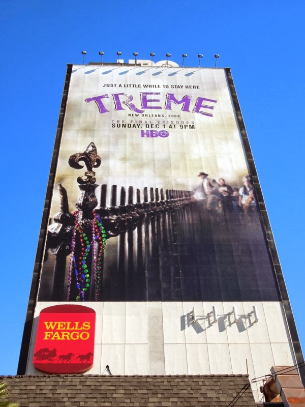 Giant Treme final season HBO billboard