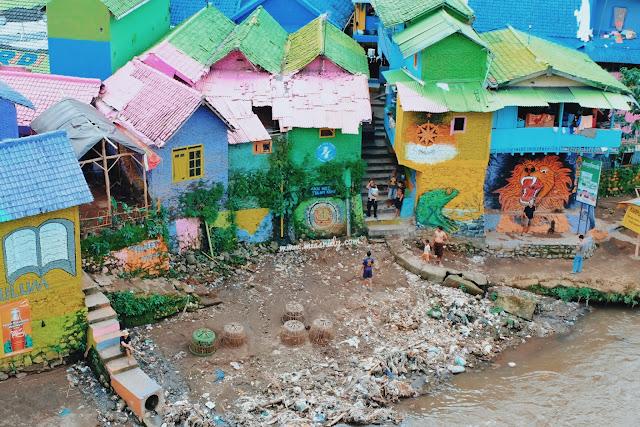 cara menuju kampung warna-warni jodipan malang