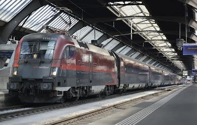 قطار,ليلي,يربط,بين,فيينا,وأمستردام