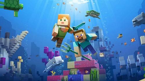Tìm tiền xu chỉ trong Minecraft không thật gian nan, phải nhớ là bạn phải bền chí