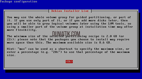 install file server turnkey linux