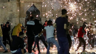 SI Indonesia Kutuk Serangan Polisi Israel Terhadap Warga Sipil Di Kompleks Masjid Al Aqsa