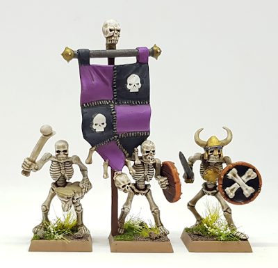 Games Workshop Skeleton HQ