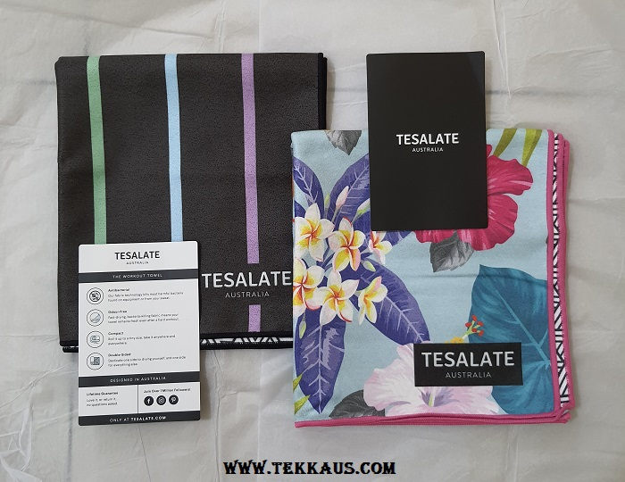 Tesalate Workout Towel Design Colours