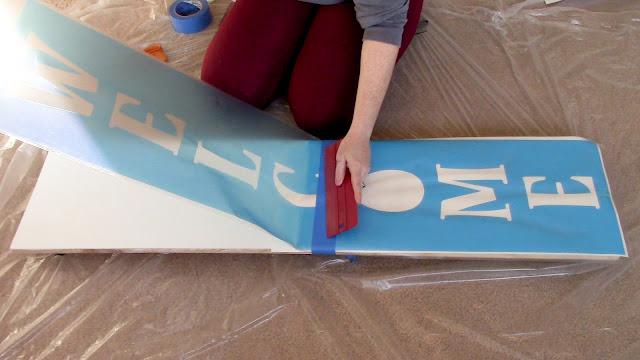 porch sign, vertical sign, vertical porch sign, wood sign, hinge method