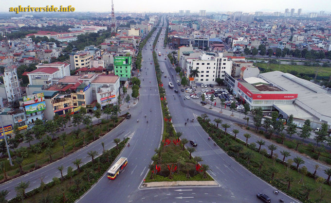 Đường Ngô Gia Tự tại quận Long Biên