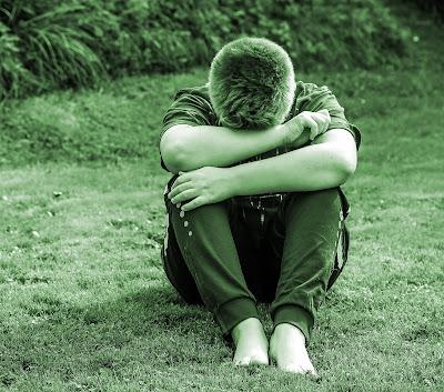 alone sad style boy photo