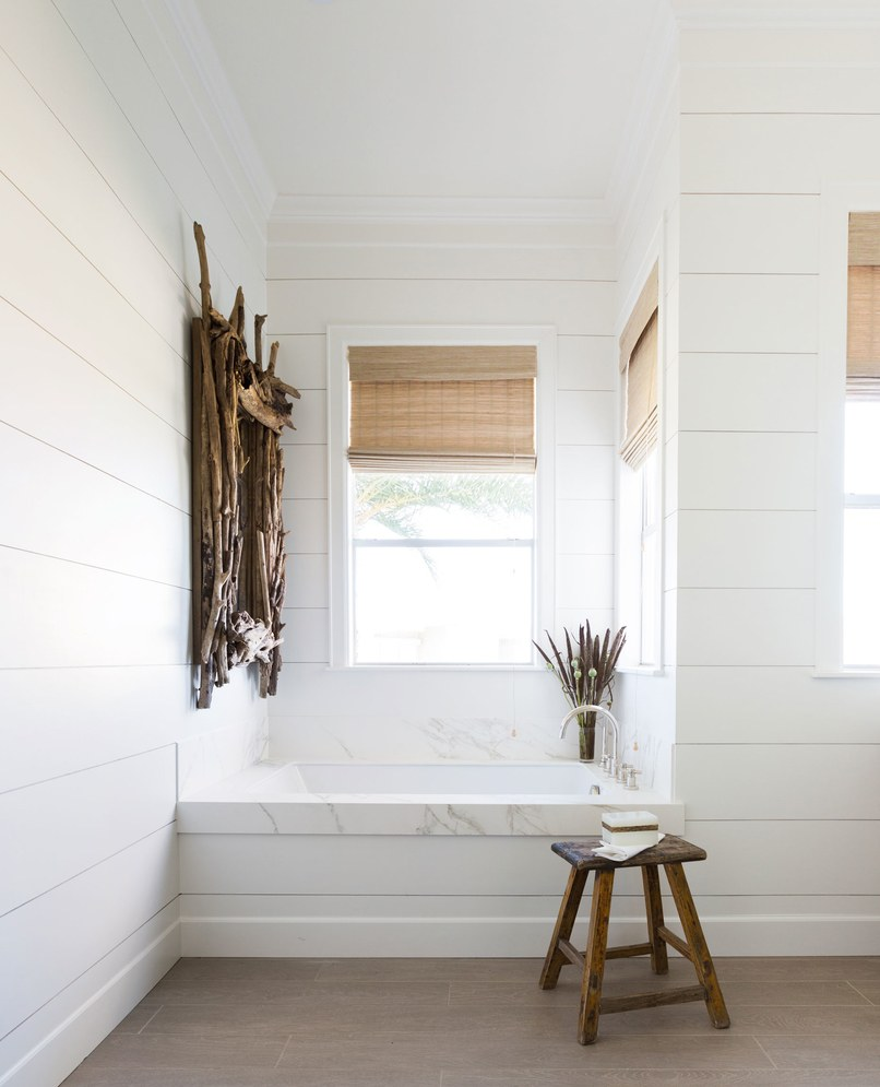 Cottage and vine monday inspiration paint it white for Cost to build a half bath