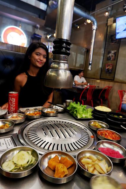 johnny eats, korean, unlimited, samgyupsal, malate, manila, meat