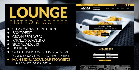 Restaurant Business Muse Theme