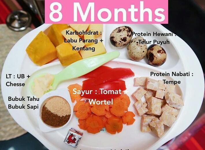 Resep Mpasi 8 Bulan Bubur Kentang Labu Mamah Muda Masak