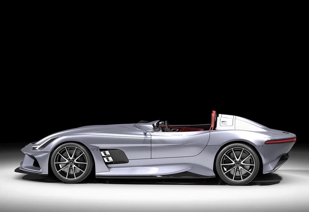 Mercedes-AMG GT Silver Echo - mẫu xe đặc biệt tưởng nhớ huyền thoại F1