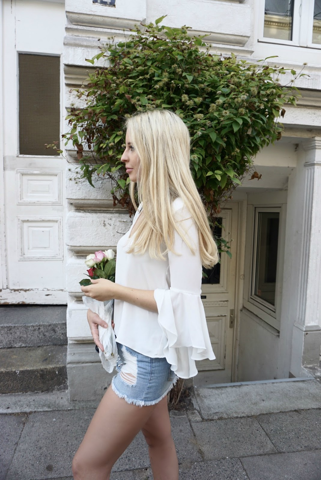 Weiße Bluse, Outfit weiße Bluse