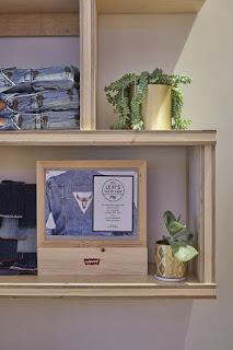 Green Pear Diaries, retail, pop up store, Levi's pop up Tailor Shop Workshop, Selfridges, Londres