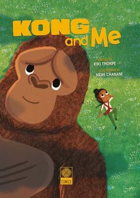 Godzilla vs Kong Kong & Me Children's Book