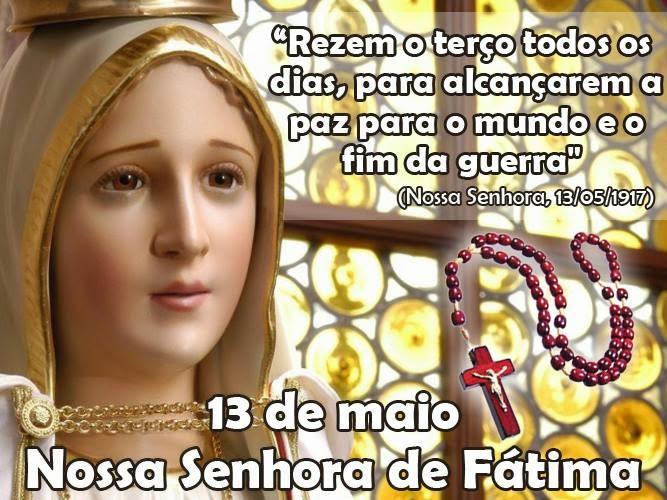 Mensagem De Nossa Senhora Aparecida Que Ela Interceda Por: Partituras Católicas: Nossa Senhora De Fátima
