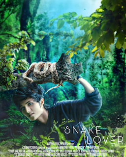 SNAKE LOVER MOVIE POSTER | MANIPULATION EDITING