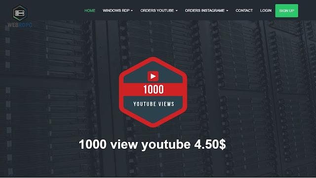 شراء 4000 ساعة مشاهدة وتحقيق الربح من قناتك وأيضا 1000 مشترك يوتوب