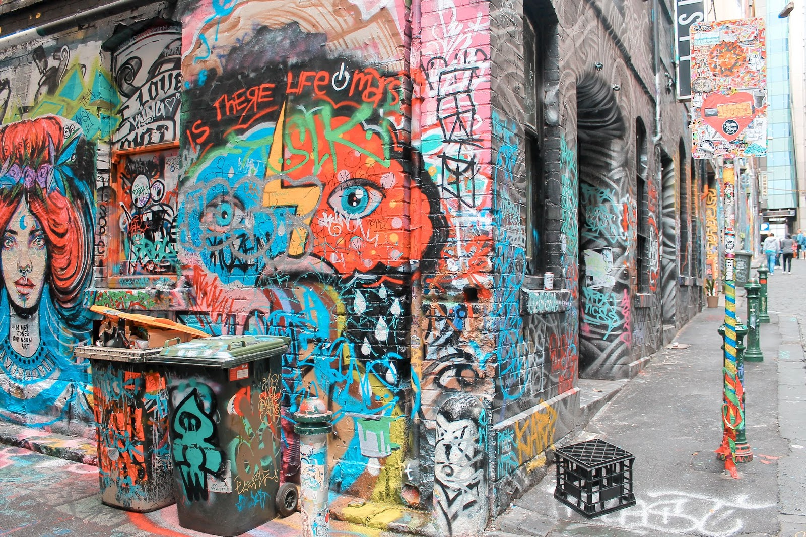 Hosier Lane Art