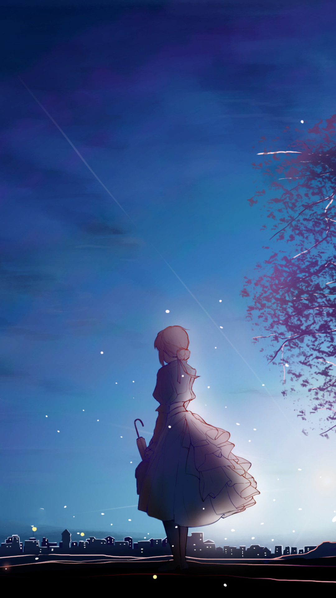 Wallpaper Violet Evergarden, Anime Girl