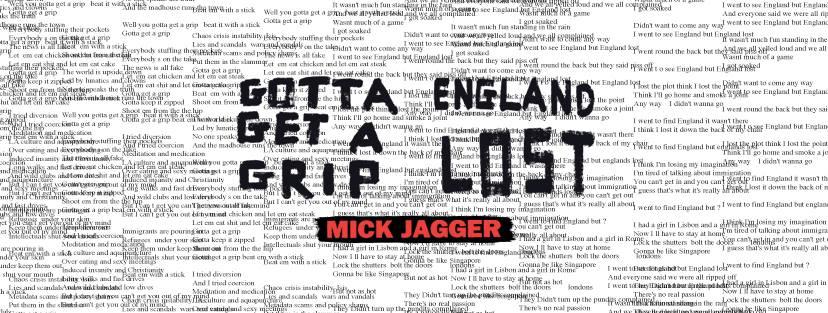 El garage del rock mick jagger present 2 nuevas canciones for 2 1 2 metratura del garage