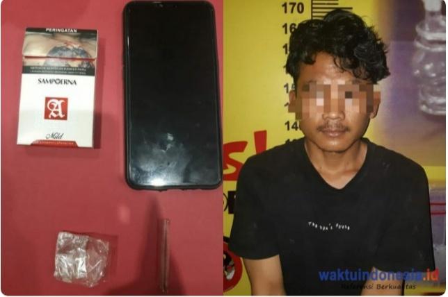 Tim Satresnarkoba Pesawaran Tangkap Warga Padang Ratu