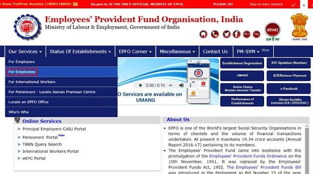 PF Account Balance Checking Process in Hindi