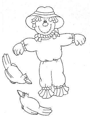 8x11 girl scarecrow coloring pages | Menta Más Chocolate - RECURSOS y ACTIVIDADES PARA ...