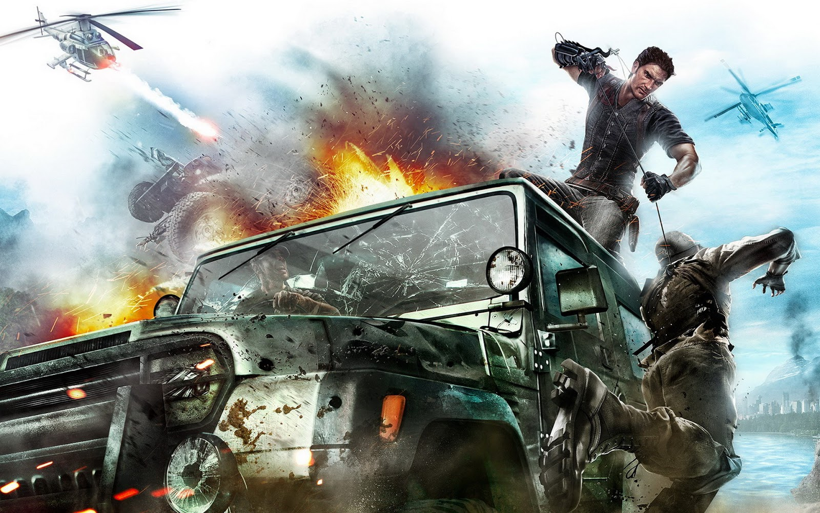 2010 Just Cause 2 Game hd games wallpapers