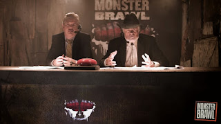 Monster Brawl (2011) Review - Buzz Chambers (Dave Foley) and Sasquatch Sid (Art Hindle)